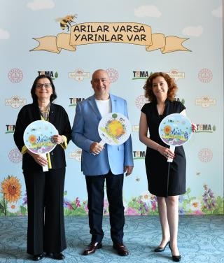 TEMA Vakfı, Balparmak ve MEB, 'Arılar Varsa Yarınlar Var' projesinde buluştu fotoğraf