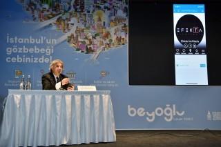 Smart Beyoğlu ile 12 bin mekana tek tuşla ulaşılabilecek fotoğraf