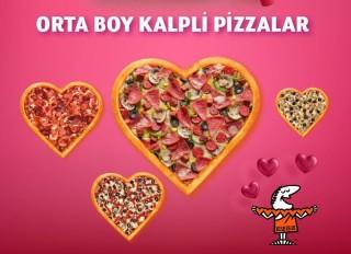 Little Caesars'tan Sevgililer Günü'ne özel pizza fotoğraf