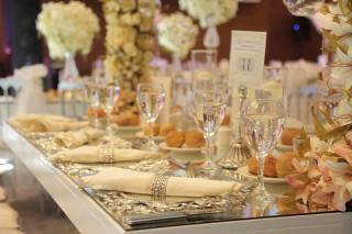 Wish More Hotel Istanbul'dan düğünlere özel menü tabağı fotoğraf