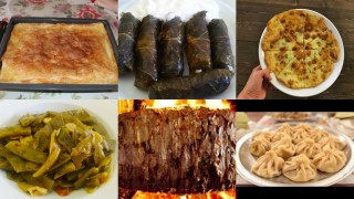 Artvin'nin yerel lezzetleri de ünlü fotoğraf