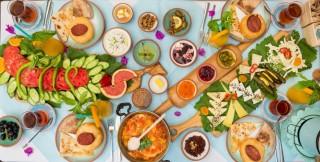 Bazlaması Çeşme'den kahvaltısı Anadolu'dan fotoğraf